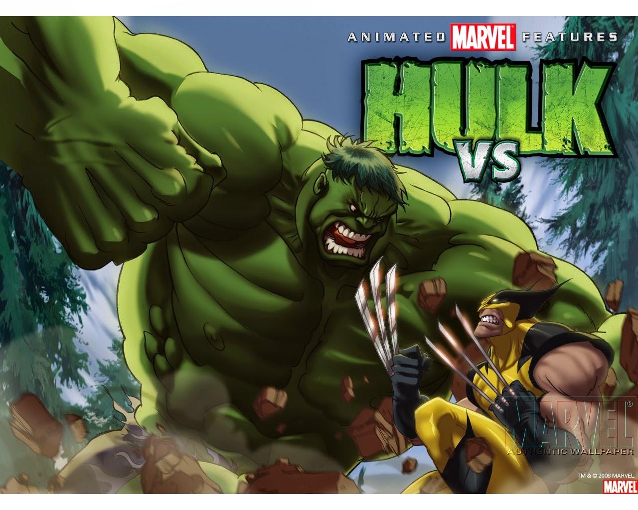 Hulk Vs Wolverine [MEGA,Latino]