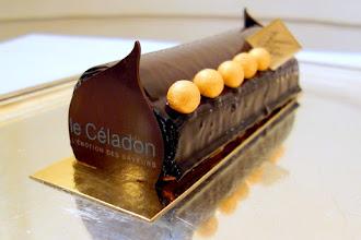 Mes Adresses : Les Bûches de Noël du Céladon, la tradition réinventée au restaurant gastronomique de l'Hôtel Westminster