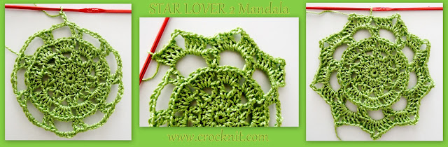 how to crochet, STARS, crochet patterns, decorative crochet, mandalas, coasters, doileys,