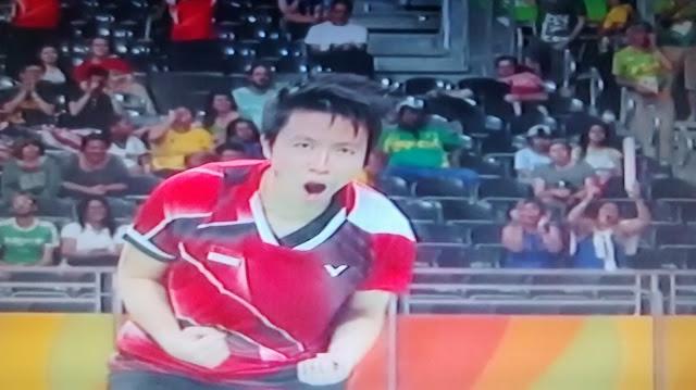 Game Pertama, Pasangan Owi/Butet Gebuk Pasangan Malaysia Chan/Goh, 21-14