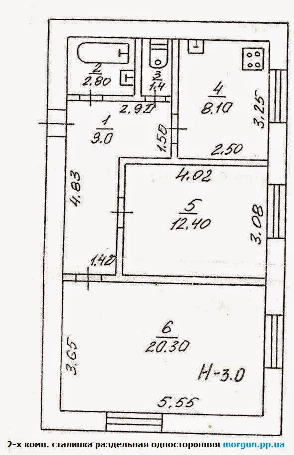 планировка квартир в городе Кривой Рог