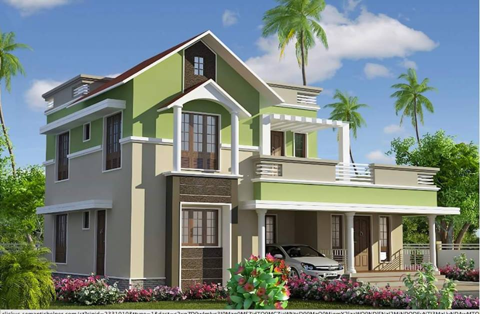 House plans with roof deck terrace Simple but elegant house plans