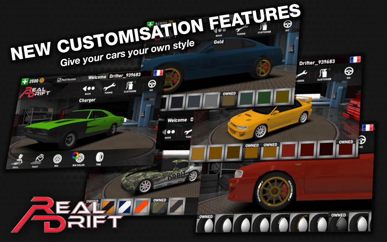 Real Drift Car Racing v3.5.6 Mod Apk (Unlimited Money