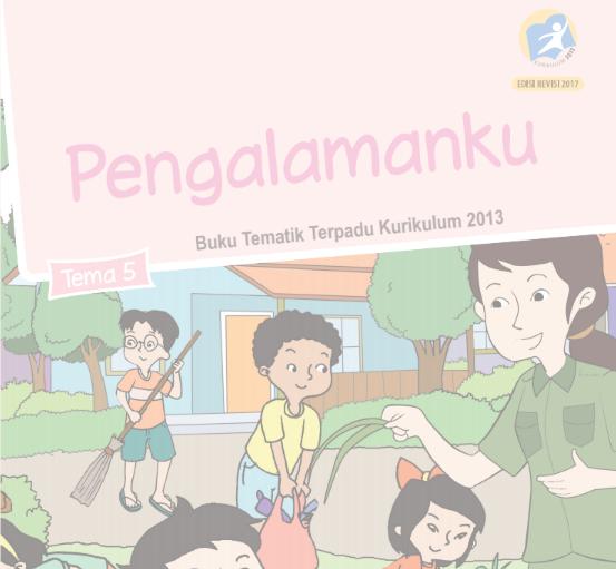 Buku K13 SD Kelas II Semester II Revisi Tahun 2017