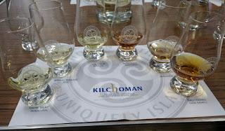 Six more whiskies to taste (or sip, in my case)