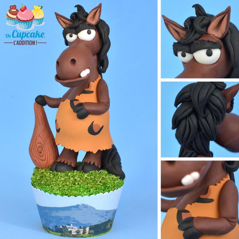 Cupcakes Hendayeses: el Pottoka Eneko y Larrún