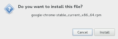 TechnoZeal: Install Google Chrome on Fedora 16 (Verne)