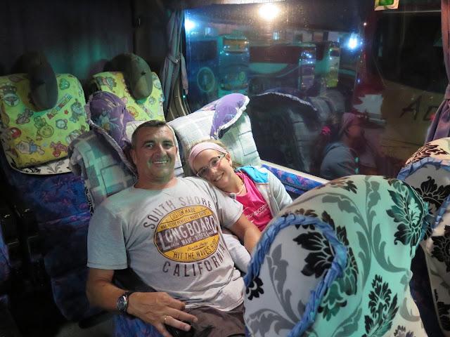 Autobús Yangón - Bagán