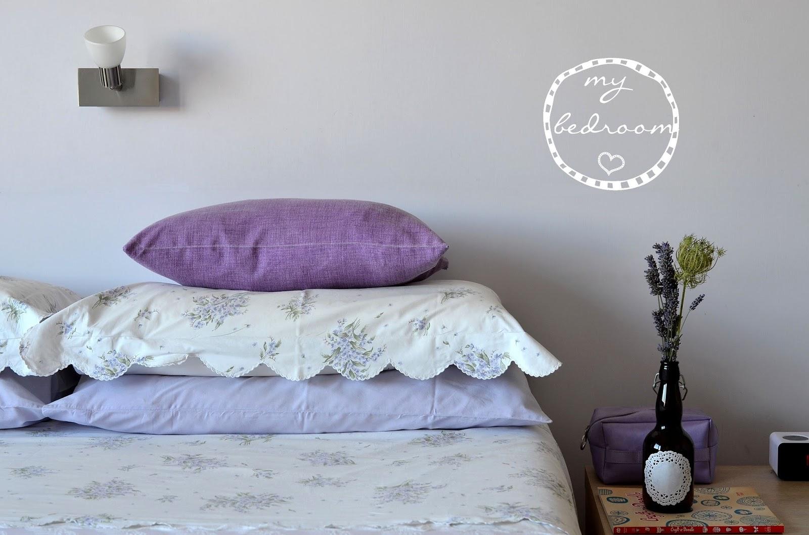 Pareti A Strisce Lilla : Camera da letto lilla camera da letto camera da letto grigia