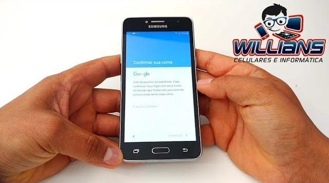 Desbloqueio de Conta Google Samsung Galaxy J2 Prime SM G532, G532MT, Desbloquear, Restaurar