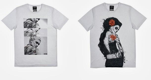 MCD lança coleção cápsula de camisetas Body Tattoo 51c31dc82d3