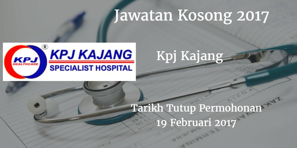 Jawatan Kosong Kpj Kajang 19 Februari 2017
