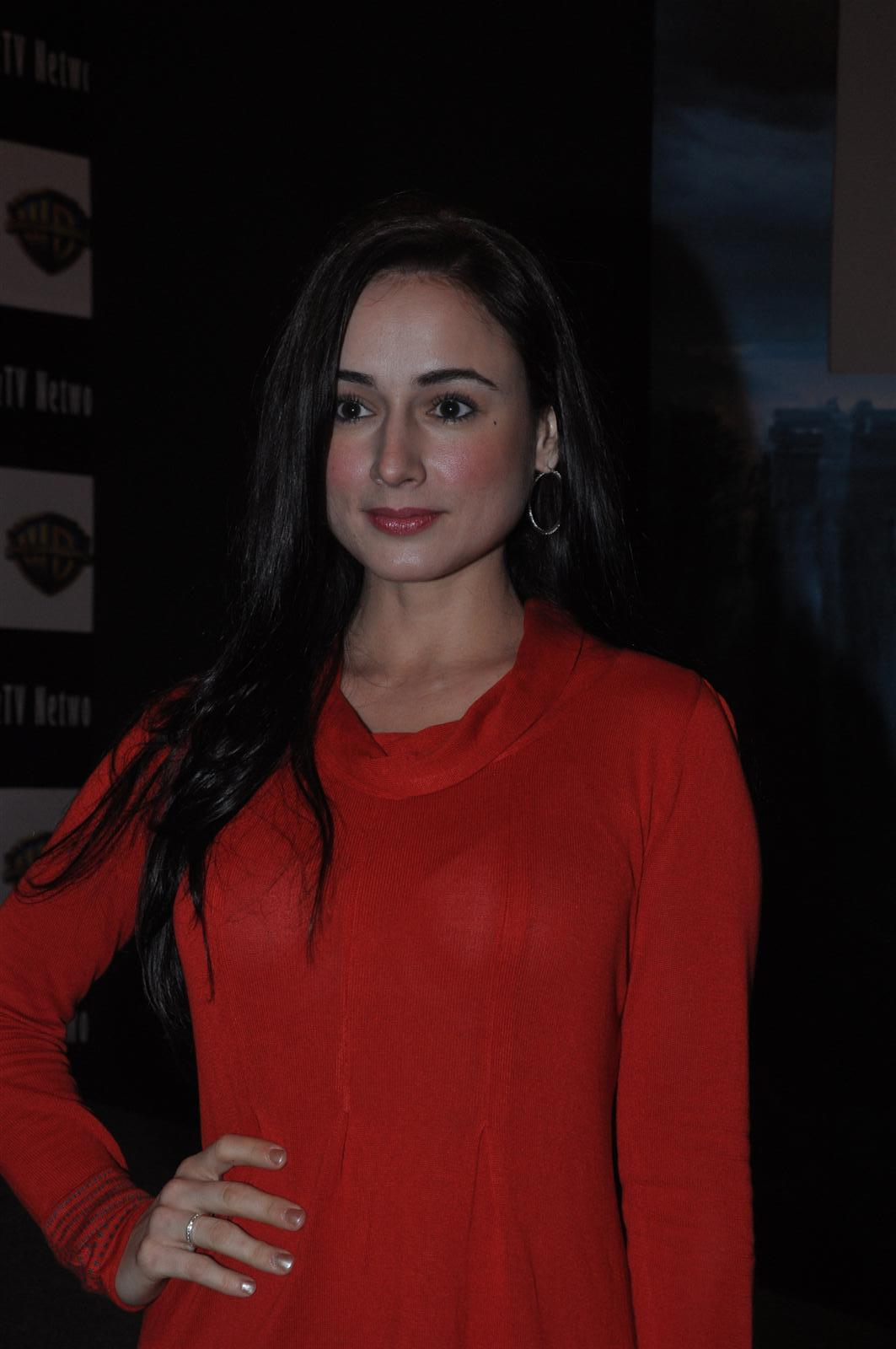 Linda Arsenio Looks Super Sexy In Red See-through Top At Film 'Dam 999' Press Meet In Mumbai