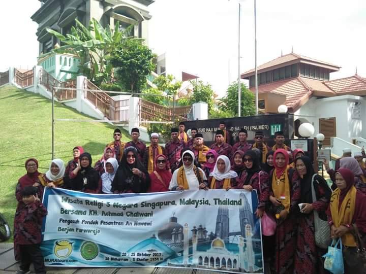 172 Nahdliyyin Ziarah Makam Ulama Nusantara di Tiga Negara