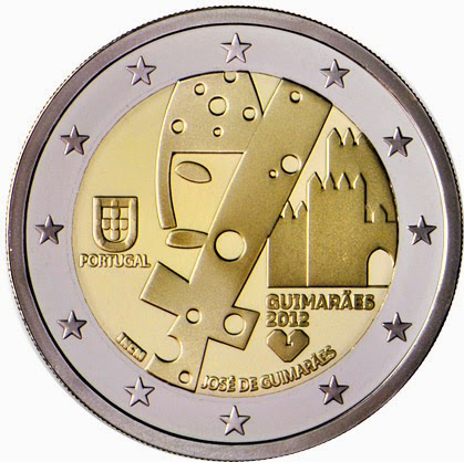 2 Euro Commemorative Coins Portugal Guimarães European Capital of Culture 2012