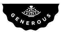 logo Generous Bakery bio sans-gluten