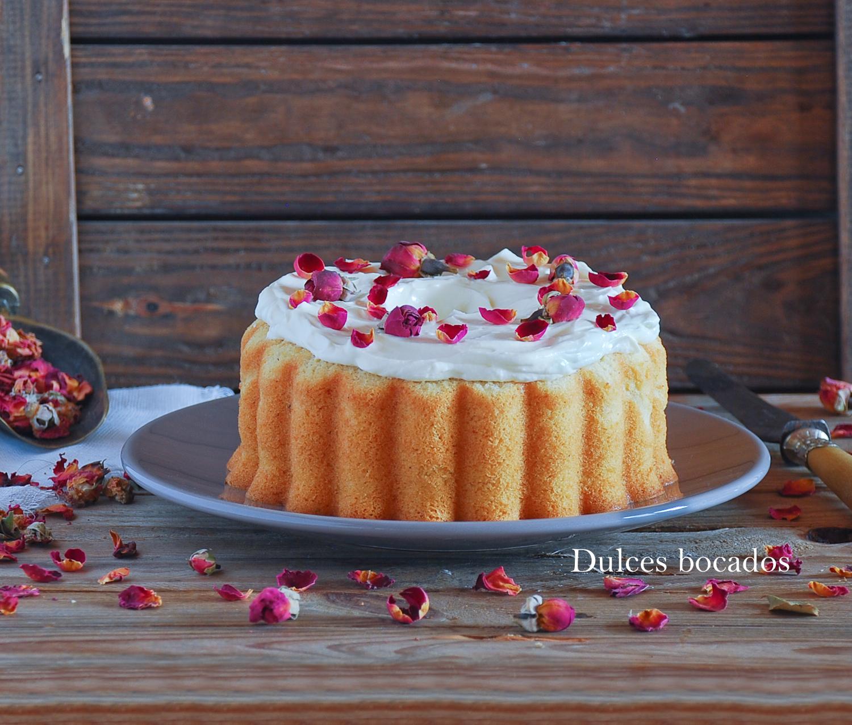 Pastel de rosa para Sant Jordi - Dulces bocados