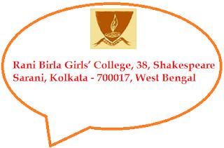 Rani Birla Girls' College, 38, Shakespeare Sarani, Kolkata - 700017, West Bengal