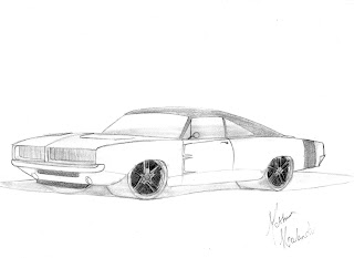MH Customs Designs: Dodge Charger 1970