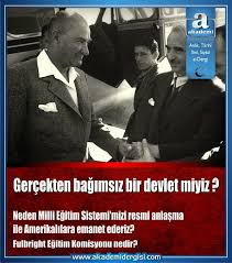 abd, chp, Cumhuriyet Tarihi, Eğitim Öğretim Sorunumuz, fulbright eğitim komisyonu, içimizdeki israil, inkılap tarihi, ismet inönü, Mustafa Kemal Atatürk