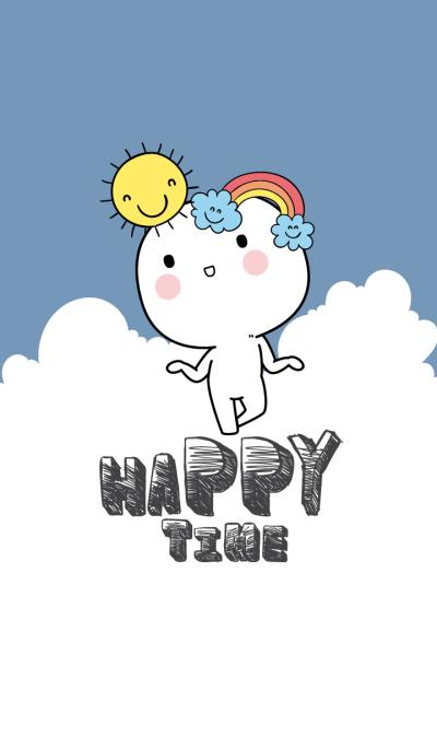 Happy White Time