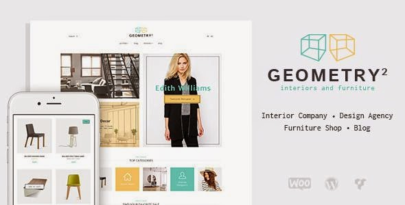 Geometry - Interior Design & Furniture WordPress Theme