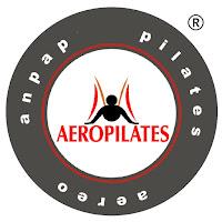 Logo, AeroPilates® Méthode, marque déposée, méthode enregistrée et breveté au niveau international