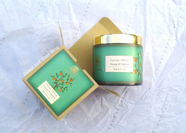 Forest Essentials Facial Ubtan Narangi & Nagkesar Review
