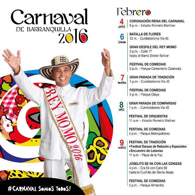 CARNAVAL DE BARRANQUILLA 2016