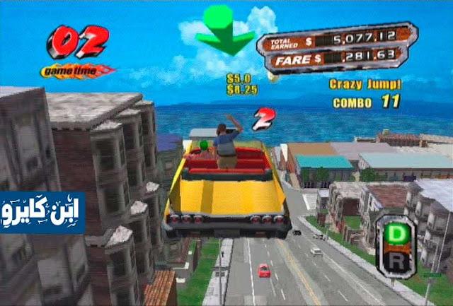 لعبة كريزي تاكسى 3