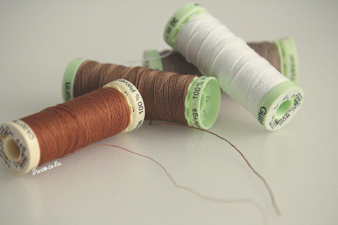8 trucos para coser el bajo de un pantalón vaquero - Utilizar hilo de torzal