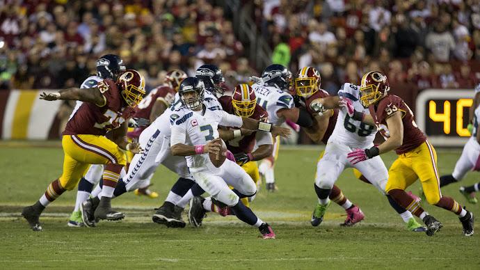 Wallpaper: Seahawks vs Redskins NFL