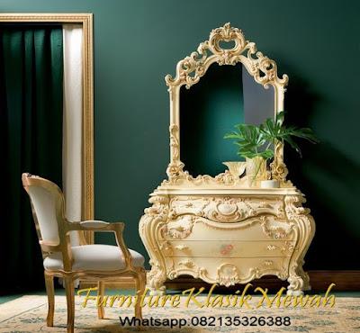 Dresser ukir,bufet ukir klasik mewah,Kabinet Ukir Jepara-Furniture Klasik Mewah