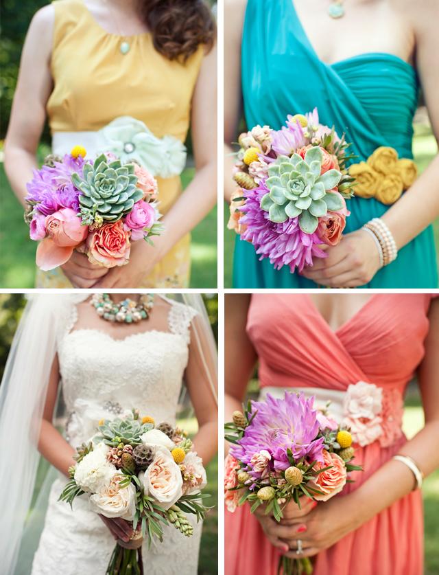 whimsical pastel DIY wedding