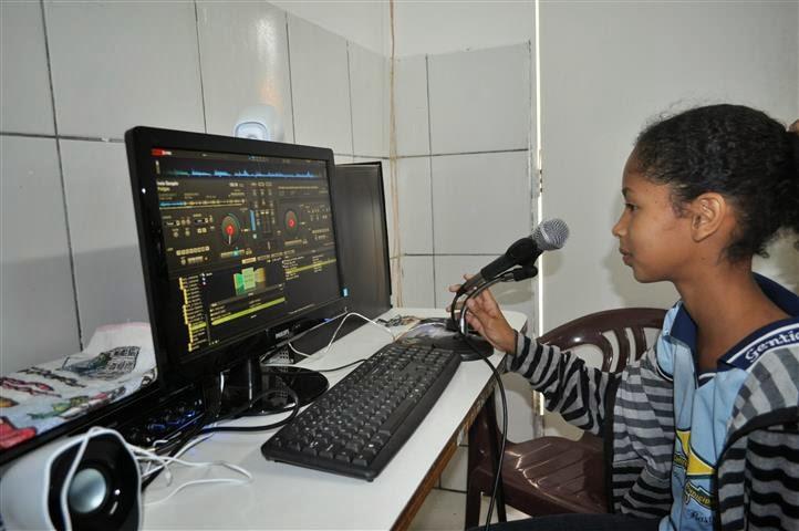Rádio Escolar é novidade no ensino público de Gentio do Ouro