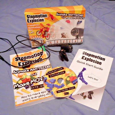 The Stopmotion Explosion Animation Kit ~  A great way to introduce stop motion animation to beginners!