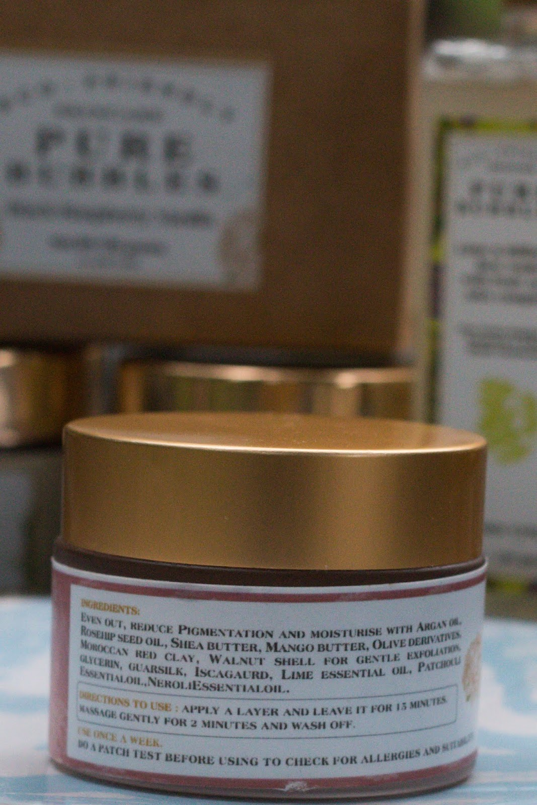Moroccon Clay Mask Back