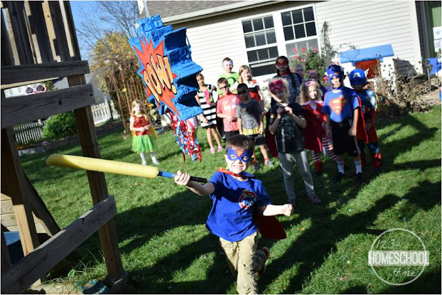 super hero pinata