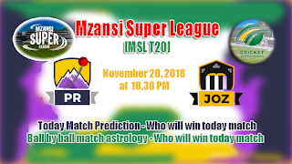 Today Match Prediction Jozi Stars vs Paarl Rocks MSL 2018 5th
