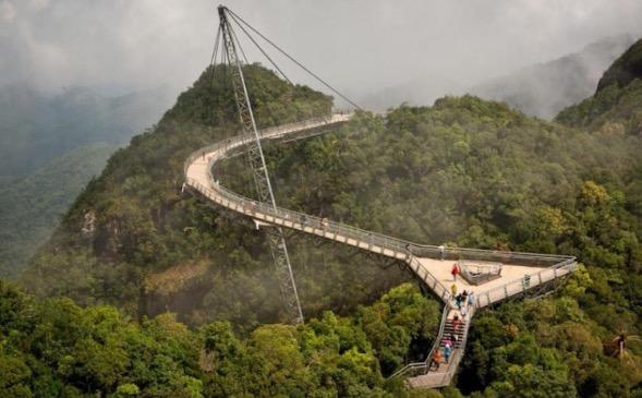 10 Jambatan Paling Seram Di Dunia, Malaysia Tersenarai