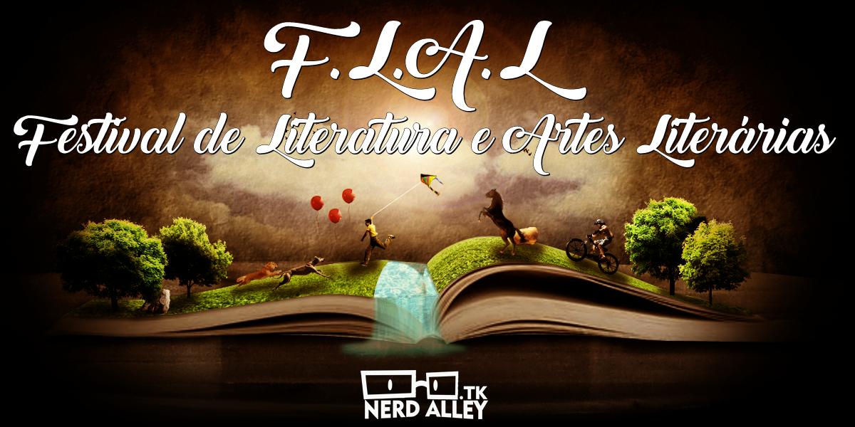 LITERATURA | 4ª edição do Festival de Literatura e Artes Literárias - Nerd Alley