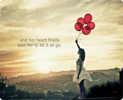 My Journey My Way: Letting Go
