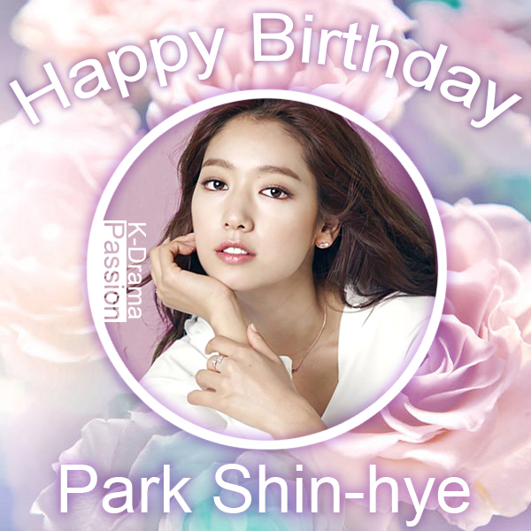 K Drama Passion Happy Birthday Park Shin Hye