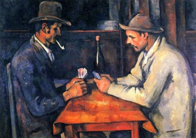 Jogadores de Cartas - Paul Cézanne e suas principais pinturas ~ O fundador da Arte Moderna
