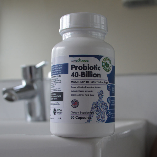 Probiotic 40-Billion, Improve your digestion naturally