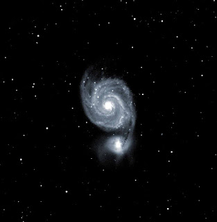 Image of M51 - Image by Mark R. & Peter H.