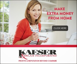 Become an Independent Dealer Working From Home with Kaeser & Blair and Giveaway Ends 6/30 via ProductReviewMom.com