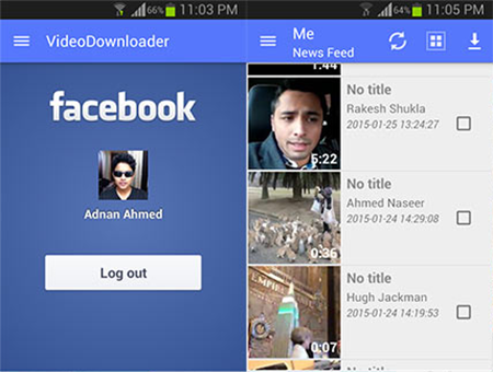 MyVideo Downloader For Facebook