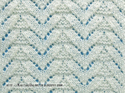 Lace Stitches for Spring 2016 - Pattern 8/10