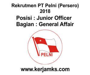 Lowongan Kerja General Affari - JUNIOR OFFICER PT PELNI (Persero)